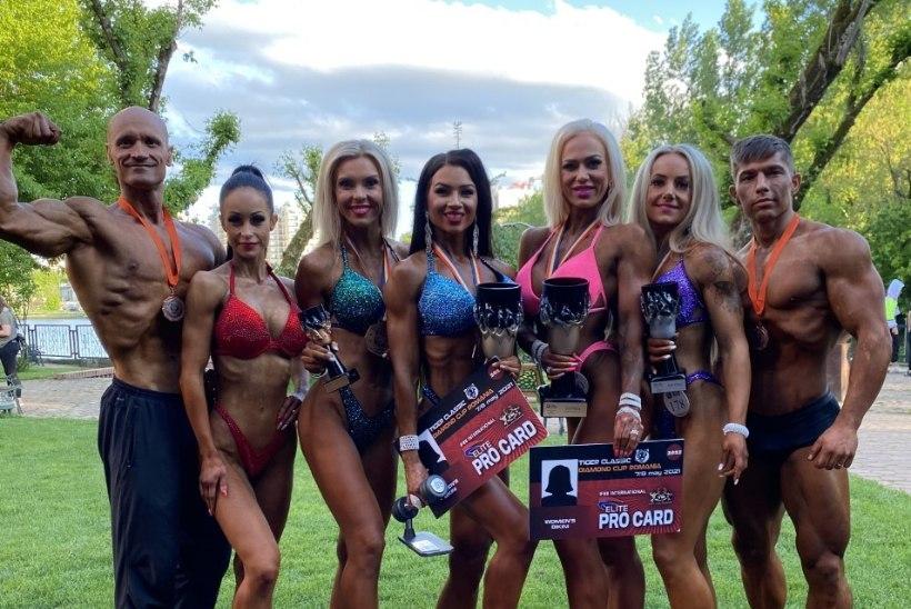 Eesti fitness-sportlased noppisid võistluselt hulga medaleid