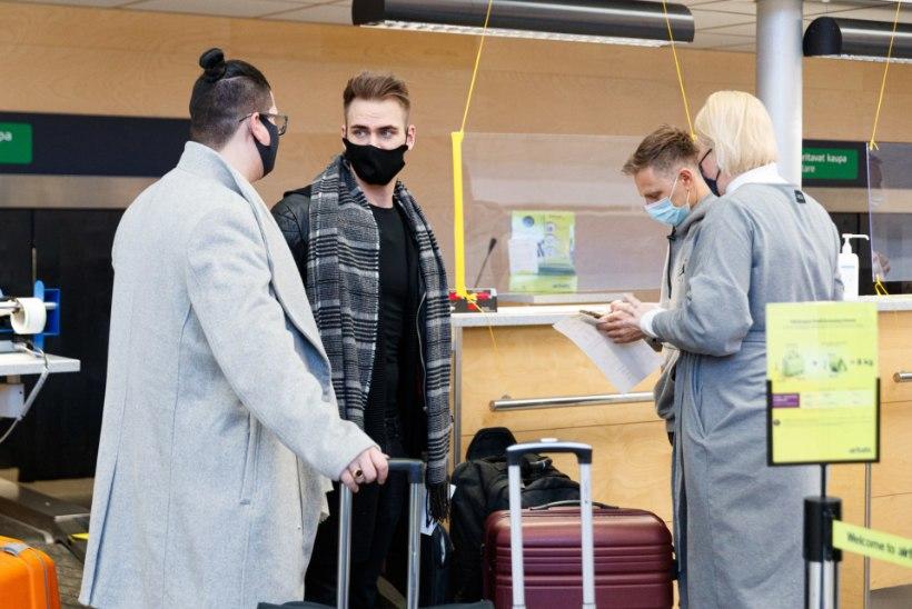 ÕL VIDEO JA FOTOD   Uku Suviste sõitis Eurovisionile: on põnevus, ootus ja natuke väsimus