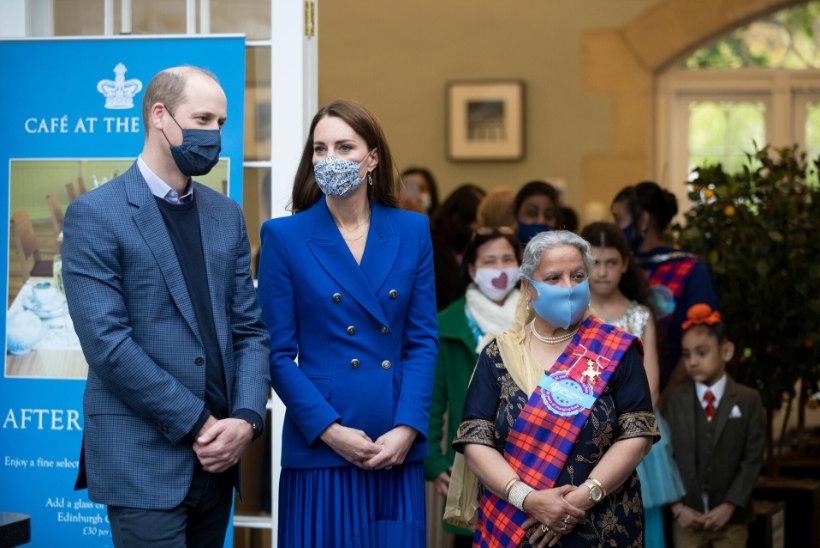 Kate Middletoni ülistatakse odavketirõivaste kandmise eest