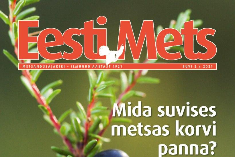 Ajakirja Eesti Mets uus number on ilmunud!
