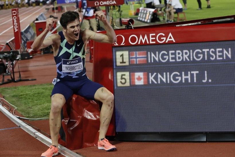Jakob Ingebrigtsen püstitas võimsa Euroopa rekordi