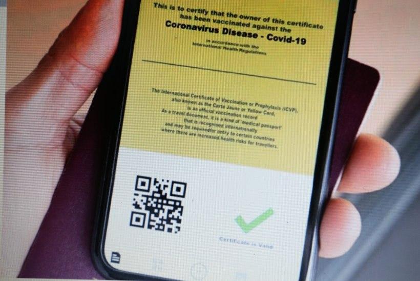 Tänasest saab luua patsiendiportaalis endale Euroopa Liidu koroonaviiruse digitõendi