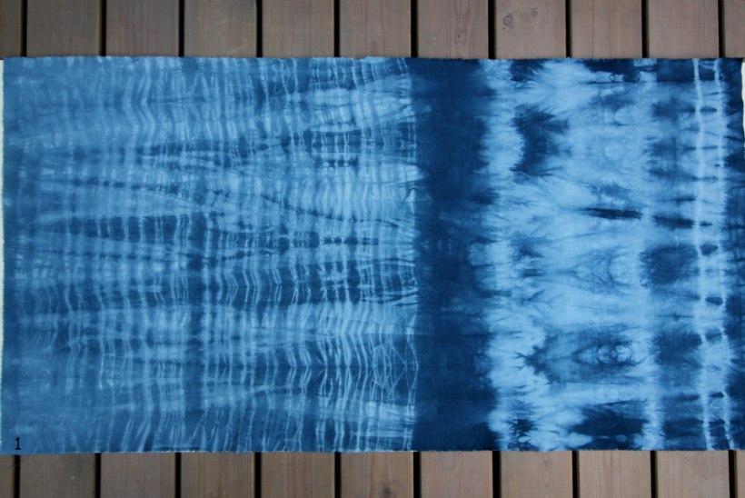 TUUNI KANGAID: Jaapanist pärit kangavärvimise tehnika shibori-võtted ootavad katsetamist!