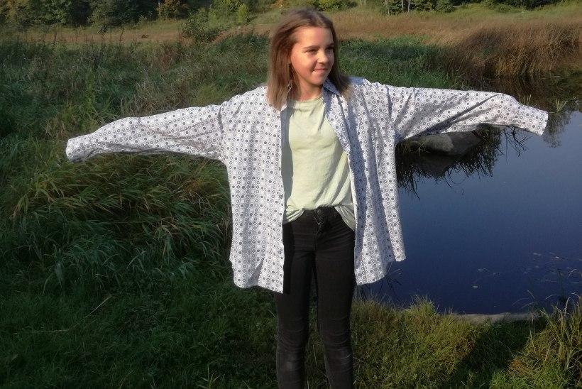 ÕPETUS: Tuuni meeste triiksärgist taskutega minikleit!
