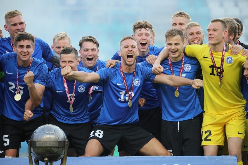 GALERII   BALTI MEISTRID! Pikk ootus sai lõpu: Eesti võitis 83 aasta järel ihaldatud karika!