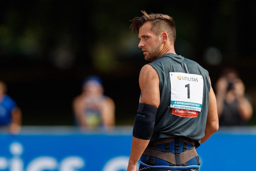 RASKE OTSUS: Magnus Kirt loobus Tokyo olümpiamängudest