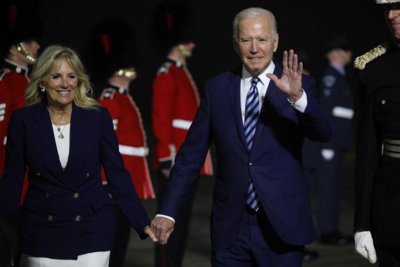 Biden alustas Euroopa visiiti