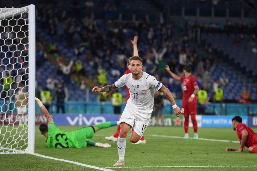 Jalgpalli EMi blogi | Itaalia alustas turniiri seljavõiduga