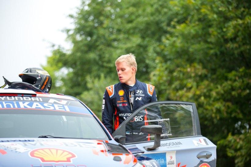Selgus Hyundai meeskonna koosseis Rally Estoniaks