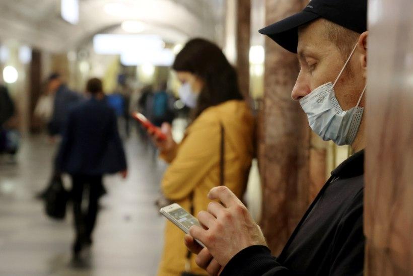 UUS REKORD! Venemaal registreeriti kõrgeim nakatumiste arv veebruarist alates