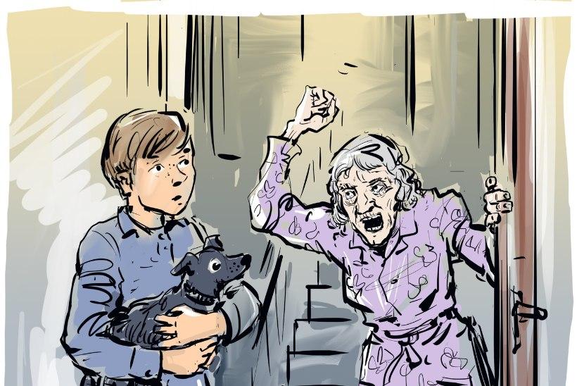 """NAABRID PÕRGUST! """"Ta tuli autost välja, võttis kahe käega venna kõrist kinni ja hakkas kägistama..."""""""