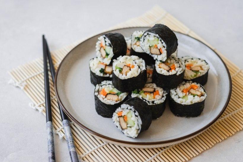 TAIMNE PÄEVARETSEPT   Põnev Korea sushirull ehk kimbap