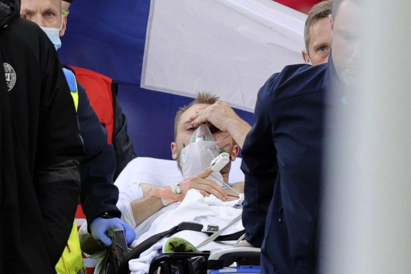 EMil infarktiga haiglasse viidud Taani jalgpallur pöördus jalgpalliüldsuse poole