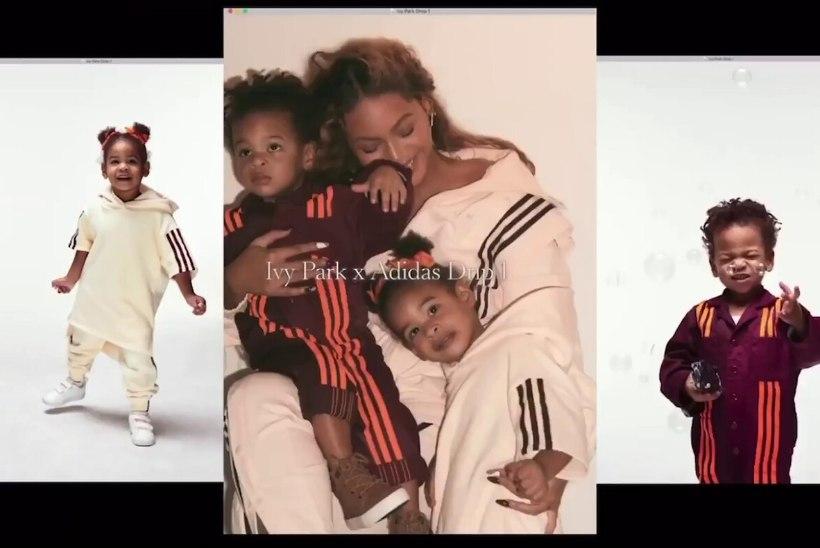 Beyoncé kaksikud Rumi ja Sir said neljaseks