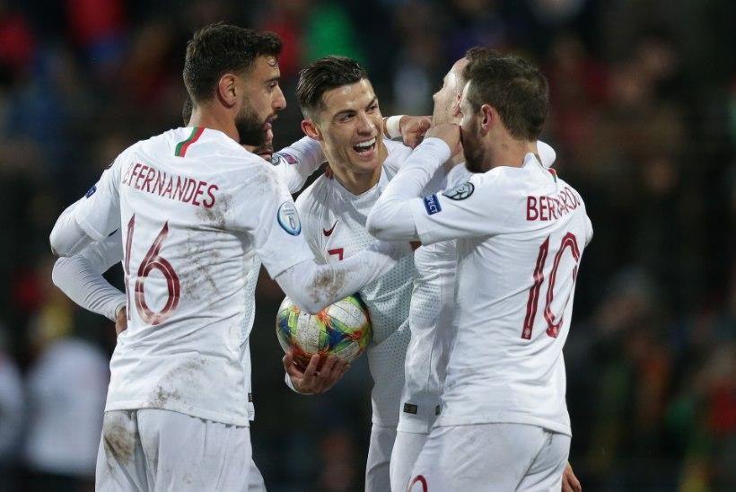 Kas Ronaldo jääb aegade talendikamale Portugalile jalgu?