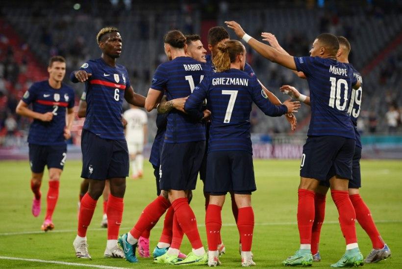 Jalgpalli EMi blogi: surmagrupp alustas! Võidud Portugalile ja Prantsusmaale