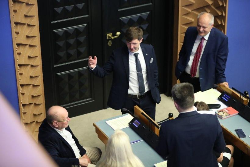 EKRE ja Isamaa peaministri umbusaldamist arutatakse homme, kurikuulus superandmebaasi eelnõu on kolmandal lugemisel