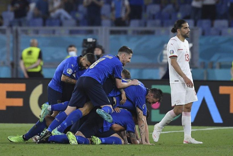 Jalgpalli EMi blogi: Itaalia jätkas ülivõimsalt, Wales kurvastas türklasi ning Venemaa avas võiduarve