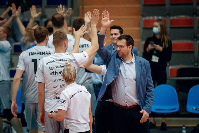 Vollekoondise peatreener poolfinaali eel: oleme ambitsioonikad ja keskendunud