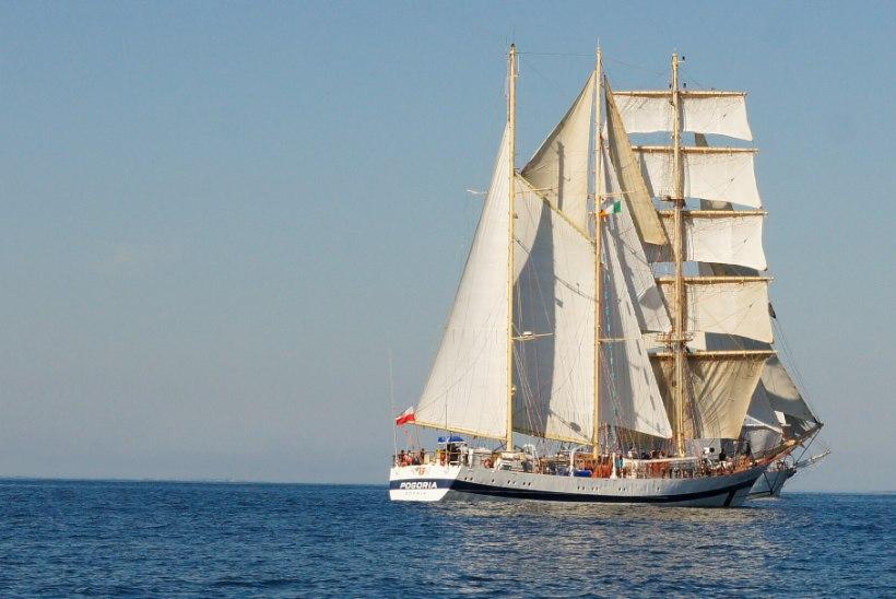 16. juulil jõuab Tallinnasse Poola üks uhkemaid purjelaevu Pogoria