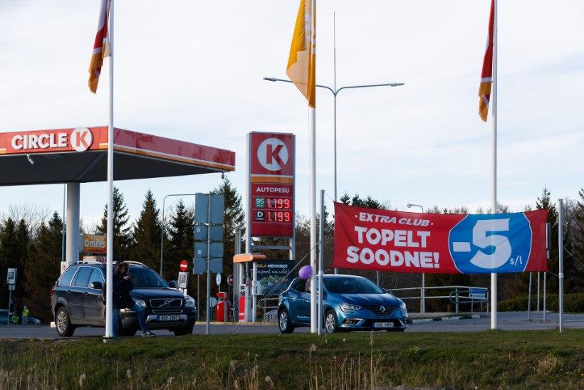 Politsei tabas Tallinnas viis tanklaröövlit