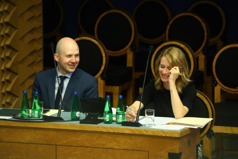 Riigikogu usaldas Kaja Kallast, valitsus jääb ametisse