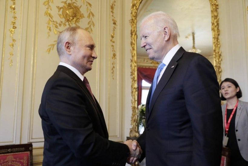 PINGELINE KOHTUMINE: Putin õigustas Navalnõi vangistamist, Biden rääkis Putinile inimõigustest