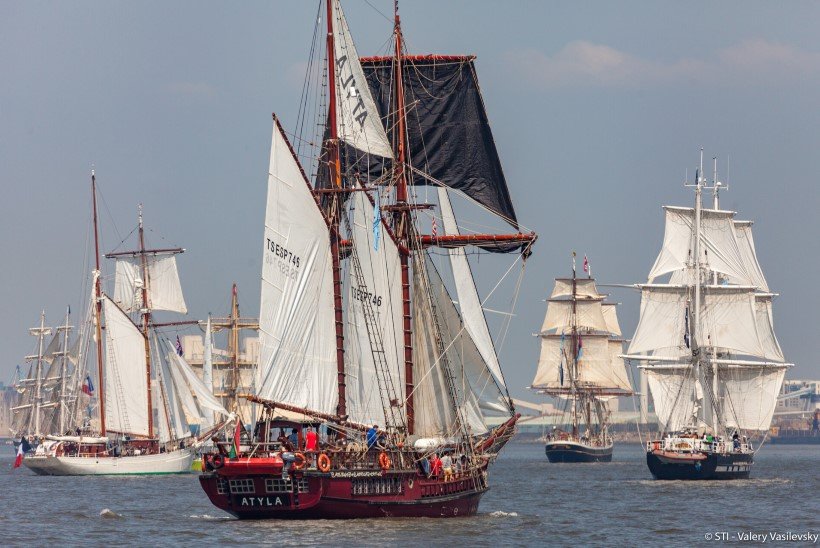 GALERII | Merepidu Sail Tallinn toob südasuvel Eestisse uhked purjelaevad!