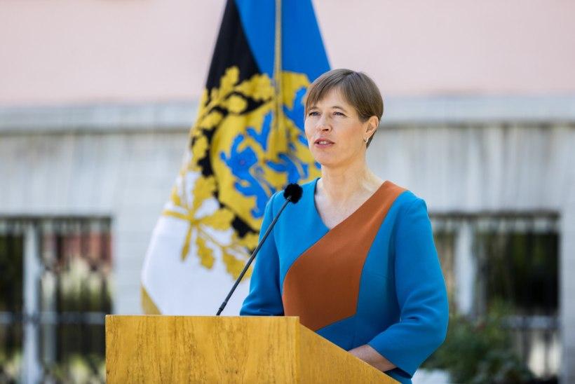 Kersti Kaljulaid: kaitseväe sümboliks on väljaõpetatud, hästi varustatud ja võitlusvõimeline reservväelane, mitte tseremooniad ja orkester