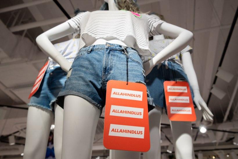 MILLAL ANNAVAD HINNAD ALLA? Euroopas on kauplejatel häda käes: kraam seisab riiulitel ja allahindlused on magusad. Mis juhtub Eestis?
