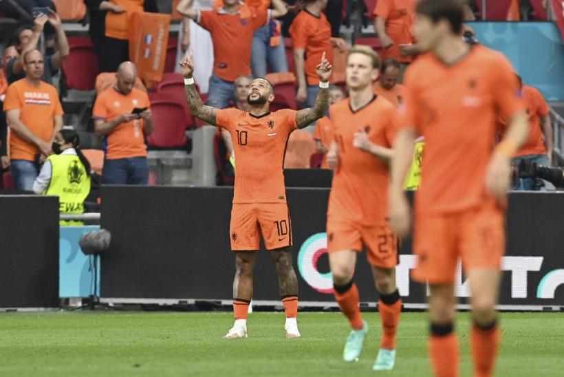 Jalgpalli EMi otseblogi   Võidud läksid Ukrainale, Belgiale ja Hollandile