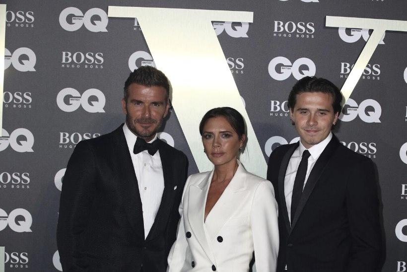 Beckhamite poeg poseerib Vogue'i esikaanel