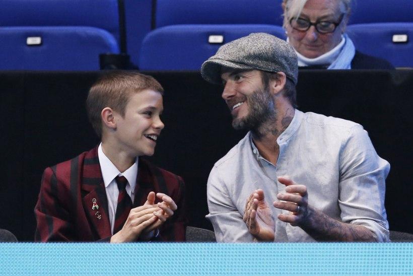 RIKKUS POLE HÄBIASI! Beckhamite 18aastane poeg roolib vähemalt 75 000eurost Maseratit