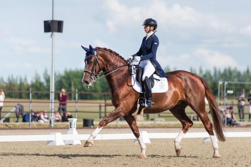 TORE! Dina Ellermann ja tema ratsu Donna Anna pääsesid olümpiale
