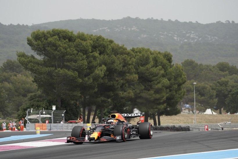 Verstappen pani Prantsusmaa etapi kvalifikatsioonis Mercedesed kotti