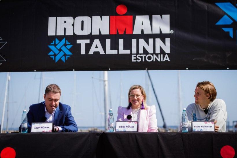 GALERII   Vaata, kes olid kohal Ironman 2021 pressikonverentsil