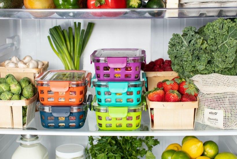 6 praktilist nippi, kuidas külmikusse varutud toit kauem värske säilib