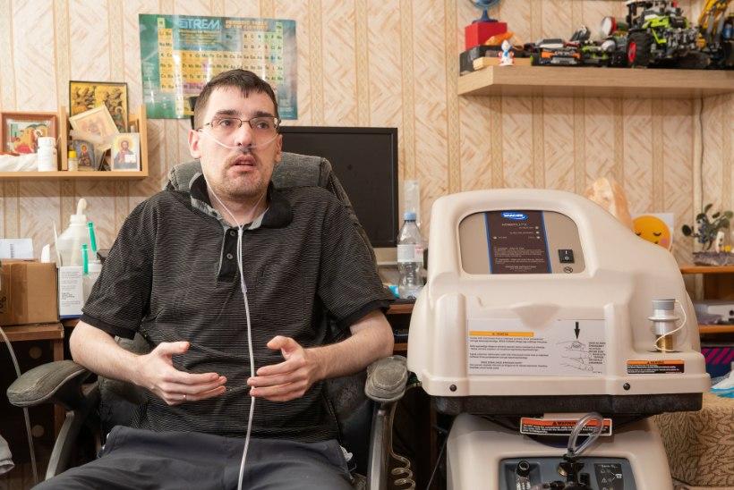"""Ravimatult haige mees: """"Ma võitlen iga õhusõõmu eest, mis mulle eluks on antud…"""""""