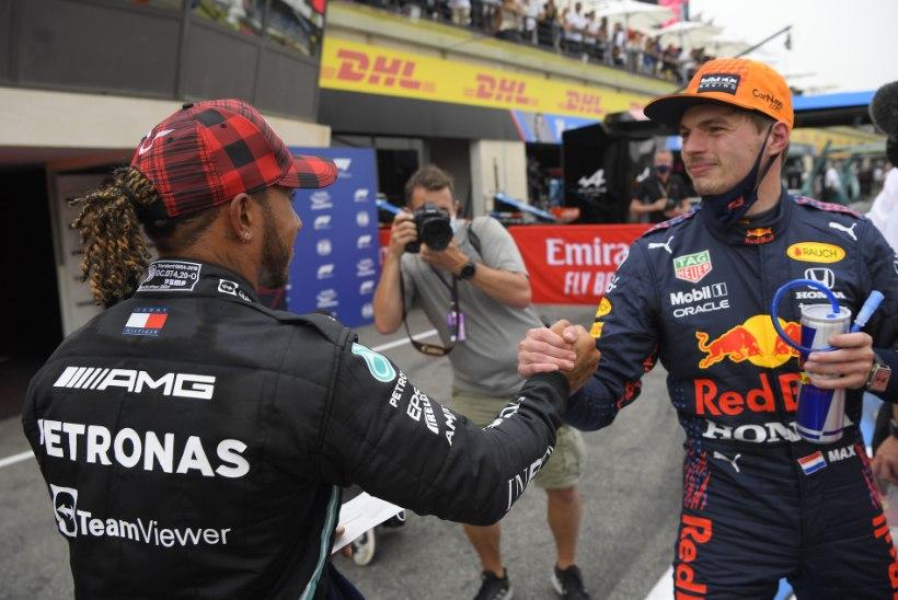 Verstappen möödus eelviimasel ringil Hamiltonist ning võitis Prantsusmaa GP!