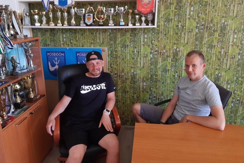 """""""KOLMAS POOLAEG""""   Pärnu Poseidon katsetab, kas Eestis on jalgpallikultuur või veel mitte"""