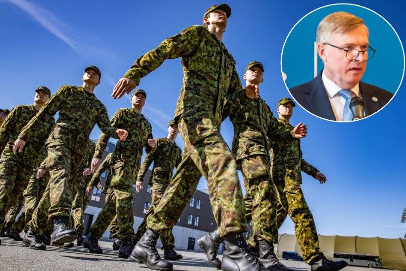 PAIGALMARSS?! Ajateenistuse-sõna tauninud kaitseminister Kalle Laanet võib jääda pika ninaga