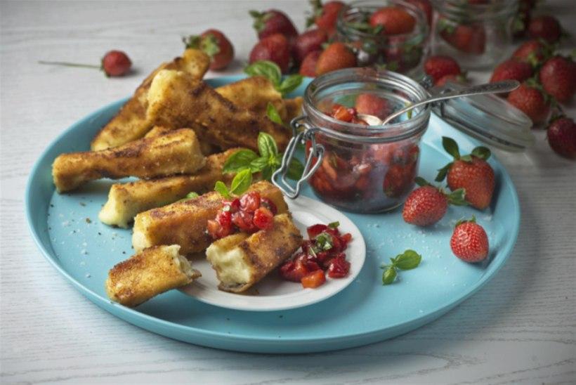 SÖÖ JA NAUDI | Praetud juust maasikasalsaga