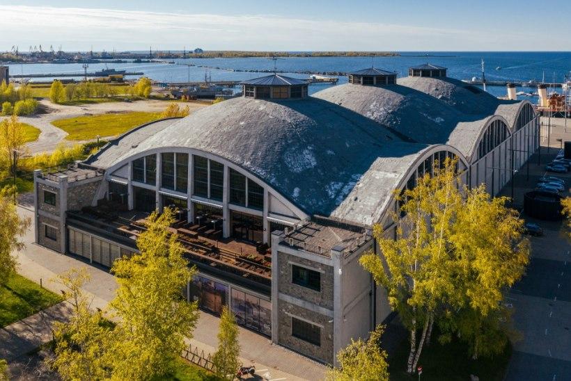 Lennusadama katuseremont Sail Tallinna suvepidustusi ei takista