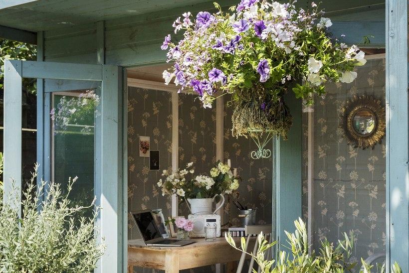 PRAKTILISED NIPID: väikesest aiamajast saab hubase suvetoa