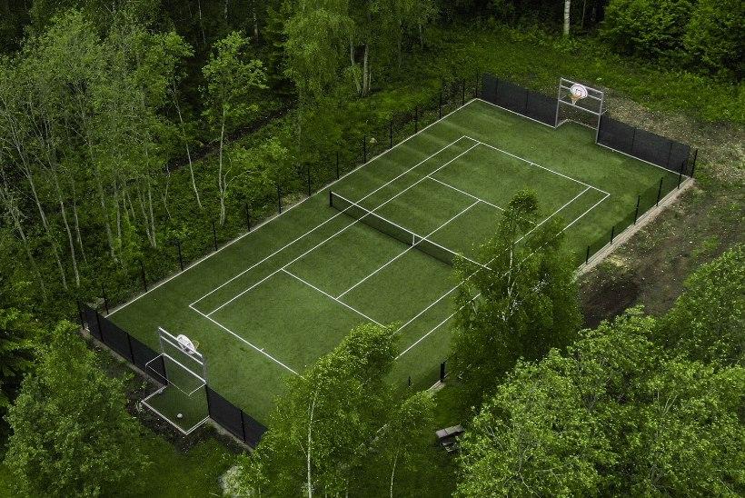 Kuidas rajada koduhoovi spordiväljak?