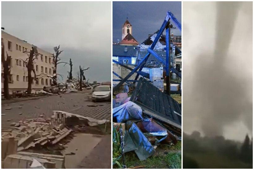 VIDEOD   Tšehhit räsis erakordne tornaado, mitu inimest hukkus