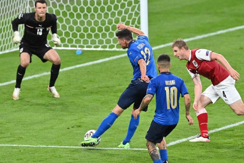 Jalgpalli EMi blogi   Hambutu Itaalia vajas Austria alistamiseks lisaaega, Taani küttis Walesile sauna