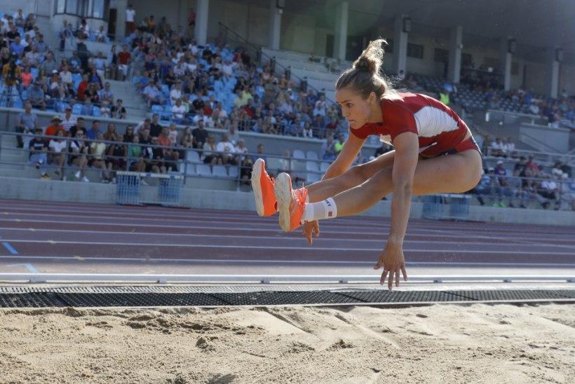 Lishanna Ilves säras kaugushüppes, Rosenberg tegi vinge kümnevõistluse
