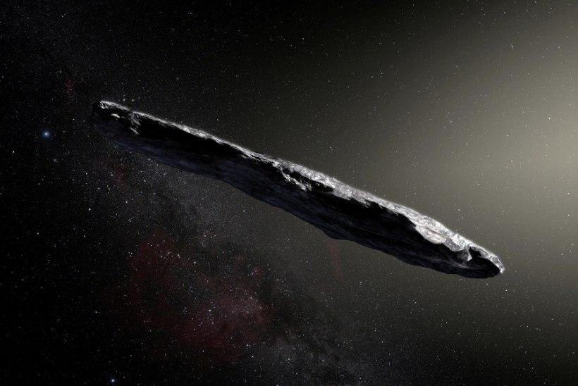 IGOR VOLKE X-TOIMIKUD   Harvardi tippteadlane: Oumamua oli ilmselt tulnukatsivilisatsiooni lennuriist