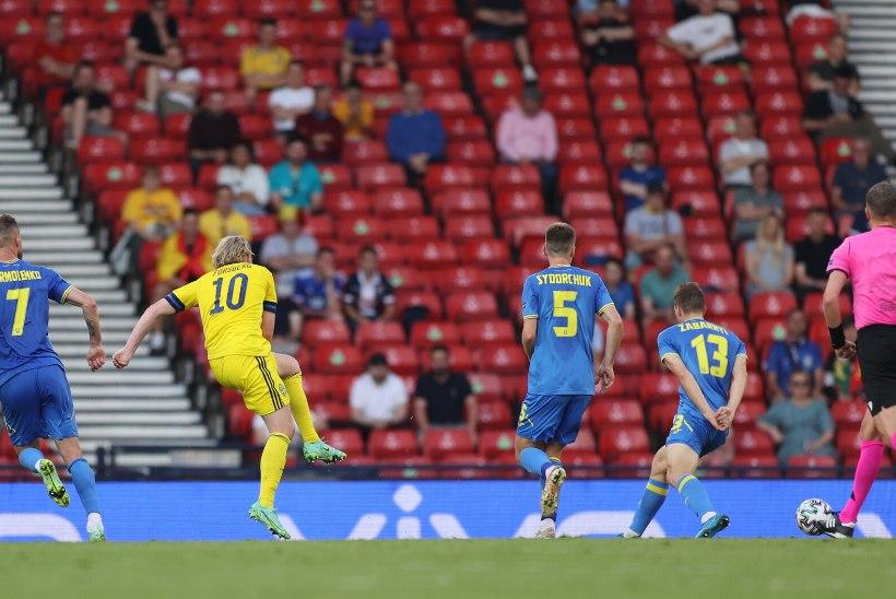 Jalgpalli EMi blogi | Ukraina alistas Rootsi lisaaja viimase minuti väravast, Inglismaa seljatas Saksamaa